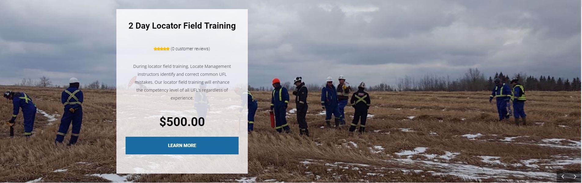 2 Day Locator Field Training